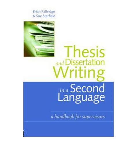 Thesis topics for tesol